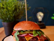 RED ANGUS CHEESE&BACON BURGER