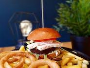 Linda McCartney cheeseburger w zestawie