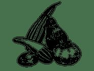 2. Sałatka z grillowanymi warzywami śródziemnomorskimi