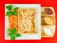 3. Naleśnik - Mięso mielone, szpinak, ser camembert // sos