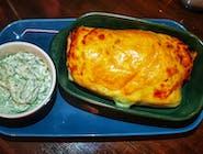 Burrito Zapiekane z pieca - tortilla, chili con carne, ser mozarella - łagodne lub ostre - *dodaj komentarz, która wersja*