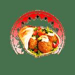 Pita Wegetariańska - Falafel Standard