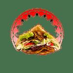 Kebab w Bułce Gruby XL