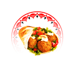 Pita Wegetariańska - Falafel Standard z serem