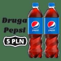 Druga Pepsi 0,85L za 5 PLN