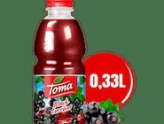 Nektar Toma czarna porzeczka 0,33L