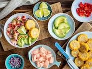 Ceviche z guacamole i awokado