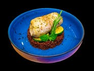 Pangasius zapiekany z cukinią i czerwoną quinoa