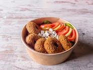Kebab box falafel z frytkami