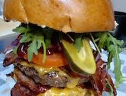 Burger Ostrzak Jalapenos