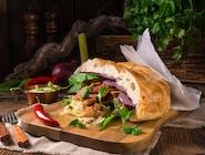 k3 Kebab w bułce Duży