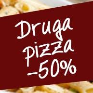 Pizza za pół ceny (30cm)