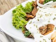 Kebab na talerzu - mały