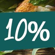 RABAT 10% NA WSZYSTKIE PIZZE przy odbiorze osobistym!