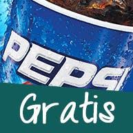 Pepsi 0,85l gratis przy zamówieniu powyżej 100 zł