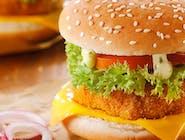 Kurczak Burger + Frytki