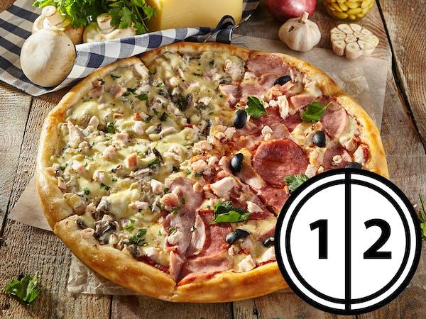 Pizza pół na pół