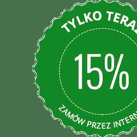 Rabat 15% na całe zamówienie