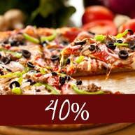 TRZECIA DUŻA PIZZA 40% TANIEJ