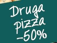 Do każdej dużej pizzy włoskiej – druga za pół ceny!