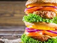 7. Kurczak burger w duecie