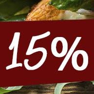 Zamów  powyżej 250 zł a otrzymaj zniżkę 15%