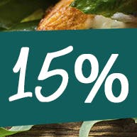 15% ZNIŻKI PRZY ZAMÓWIENIU CO NAJMNIEJ DWÓCH PIZZ