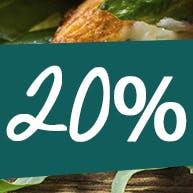 20% RABATU!!!