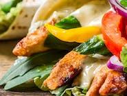 Kebab w cieście  z frytkami [średni]