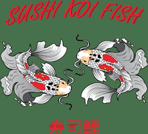 Sushi Koi Fish