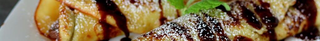 NALEŚNIKI (francuskie crepes na słono i słodko)