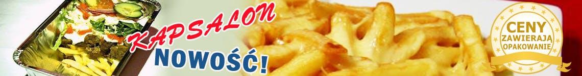 KAPSALON !!! ,  Zapiekane frytki serem